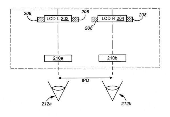 «Peripheral treatment of head-mounted displays» («Периферийная обработка для надеваемых дисплеев») от Apple