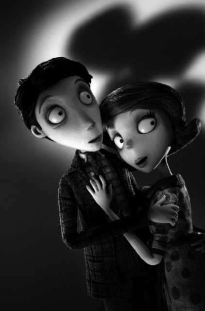 Мистер и миссис Франкенштейн из 3D-мультфильма «Франкенвини» (Frankenweenie)