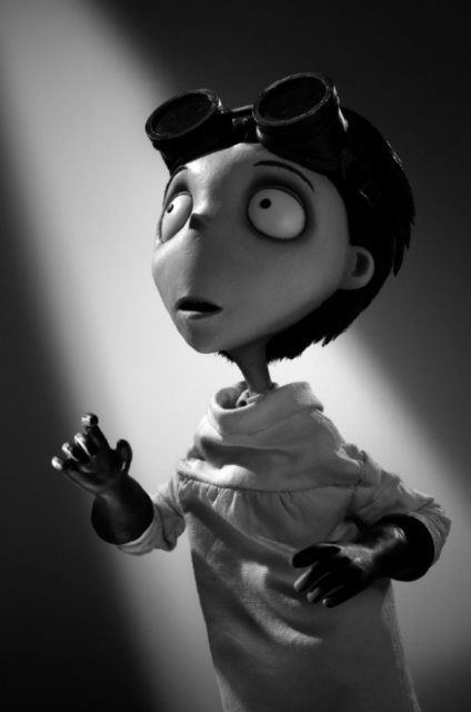 Виктор Франкенштейн из 3D-мультфильма «Франкенвини» (Frankenweenie)