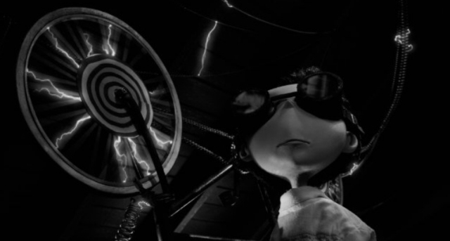 Кадры из 3D-мультфильма «Франкенвини» (Frankenweenie) от Walt Disney Pictures