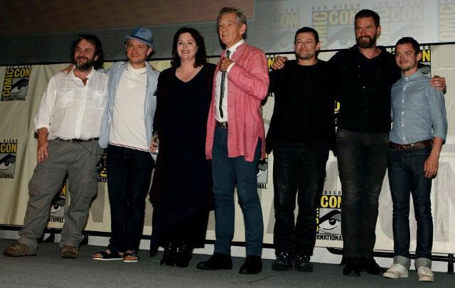 3D-лента «Хоббит» на выставке Comic-Con