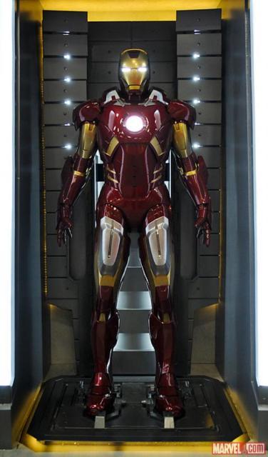 3D-фильм «Железный человек 3»: фото с Comic-Con