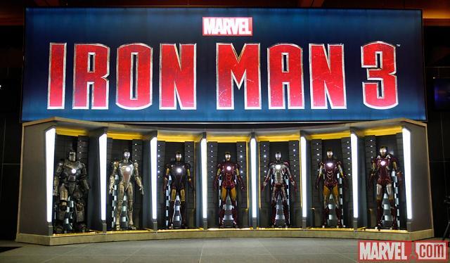 3D-фильм «Железный человек 3»: первый эскиз