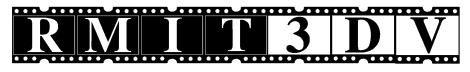RMIT3DV –библиотека некомпрессированного HD 3D-видео