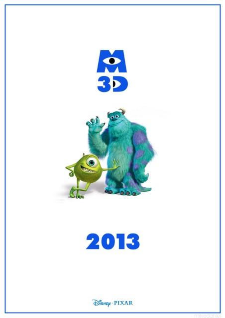 Премьера 3D-мультфильма «Корпорация монстров» (Monsters, Inc.)