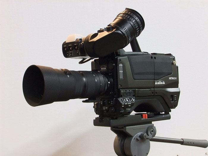 NHK и камера Super Hi-Vision