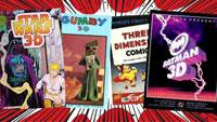 Домашняя библиотека в 3D: будущее 3D-комиксов и не только