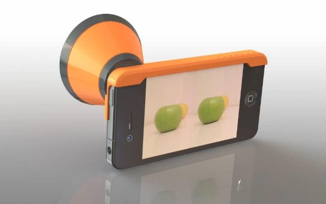 3DCone превратит iPhone в 3D-камеру