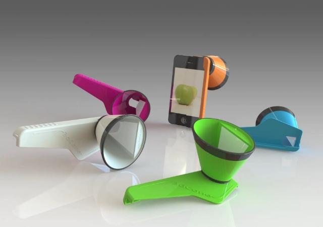 3DCone от Saturn3DDesign для съемок в 3D на iPhone