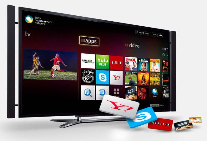 3D ЖК-телевизор Sony BRAVIA KD-84X9005: сеть Sony Entertainment Network