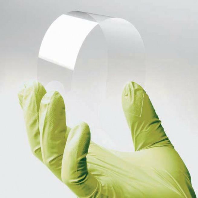 Тонкие, легкие, гибкие стеклянные подложки от Corning и AGC