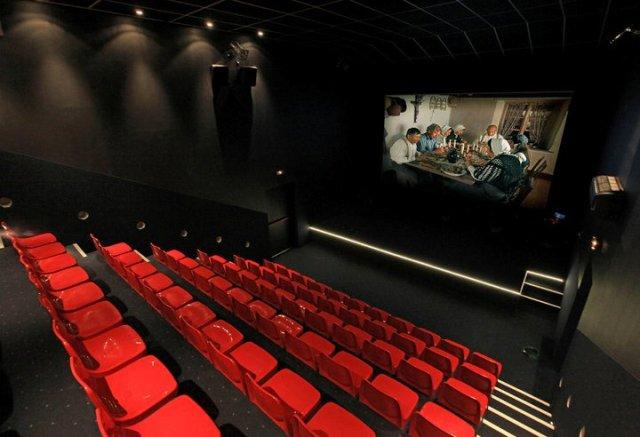 3D-кинотеатр в магазине Maison Louis