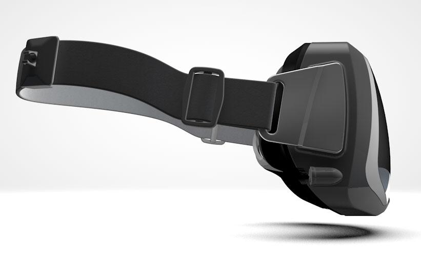 Oculus Rift: вид сбоку