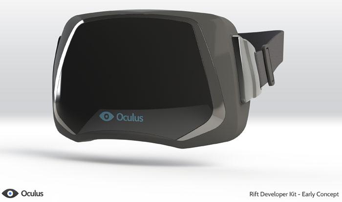 Oculu Rift: прототип