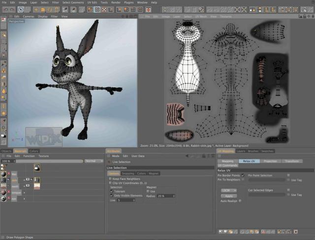 Профессиональный редактор для работы с 3D-графикой CINEMA 4D Release 14