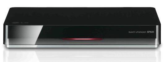 Медиаплеер LG SP820 с поддержкой 3D