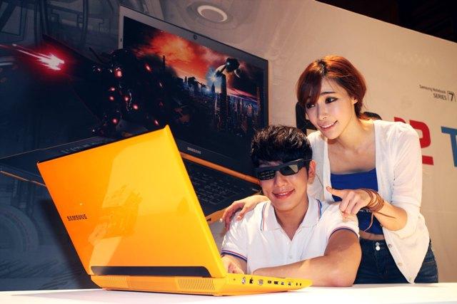 Игровые ноутбуки Samsung Series 7 Gamer – теперь с поддержкой стерео 3D
