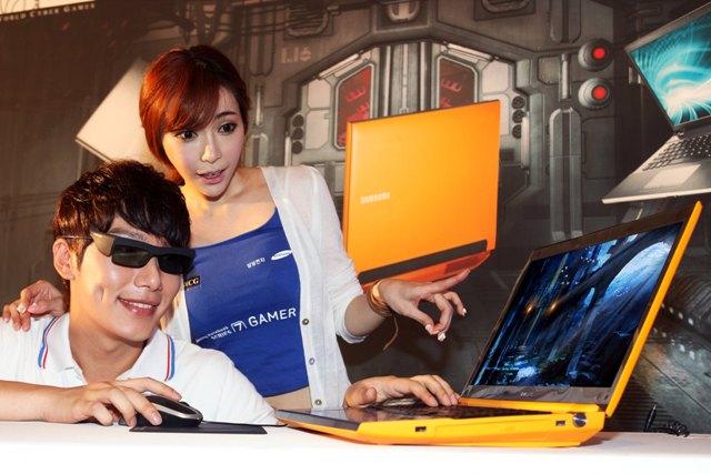 Samsung Series 7 Gamer Yellow 3D