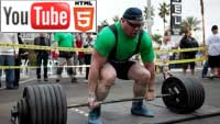 YouTube стерео 3D-трейлер к фильму «Strongman 3D»