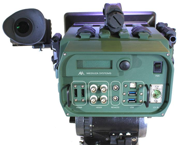 3D-камера Meduza Titan, вид сзади
