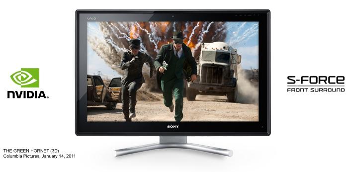Мультисенсорные ПК Sony VAIO L с поддержкой стерео 3D