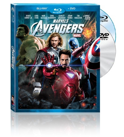 Blu-ray 3D-диски «Мстители»
