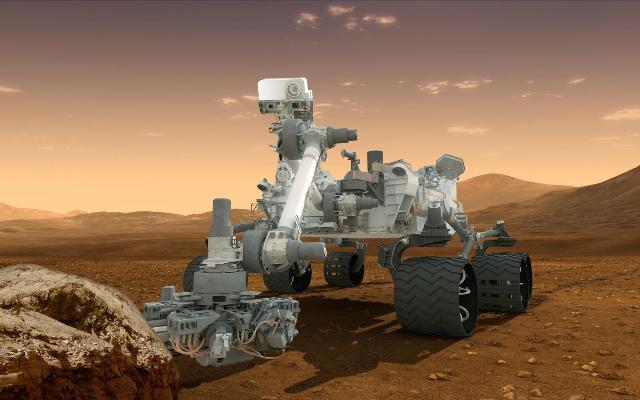 Марсоход Curiosity на миссии Mars Science Laboratory