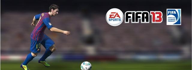 EA SPORTS FIFA 13 от Electronic Arts на gamescom 2012