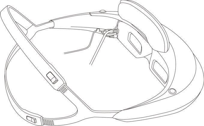 Персональный стерео 3D-дисплей Sony HMZ-T2