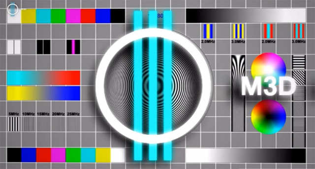 3D-канал M3D: реклама на YouTube стерео 3D