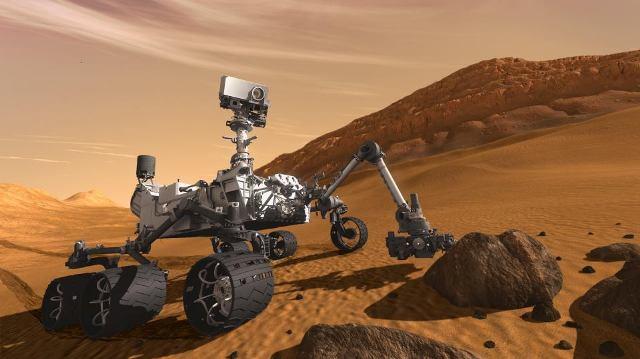 Лаборатория Реактивного Движения NASA (Jet Propulsion Laboratory, JPL) использует очки 3D Vision, чтобы увидеть Марс в 3D
