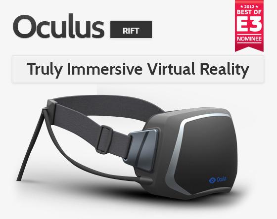 Oculus Rift: надеваемые 3D-дисплеи – будущее игровой индустрии?