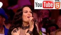 Закрытие Олимпиады: Tinie Tempah, Jessie J и Taio Cruz на YouTube 3D