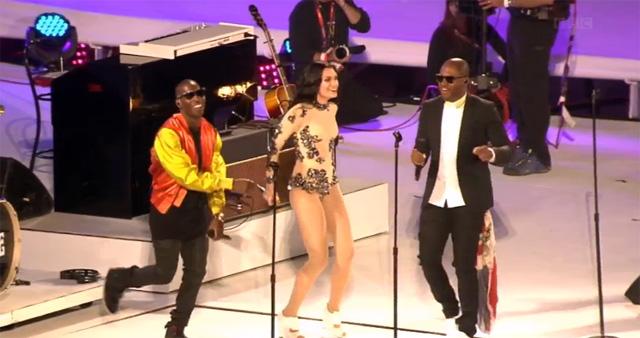 YouTube 3D-ролик с закрытия Олимпиады: Tinie Tempah, Jessie J и Taio Cruz
