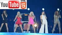 YouTube 3D: Spice Girls и One Direction на закрытии Олимпиады-2012