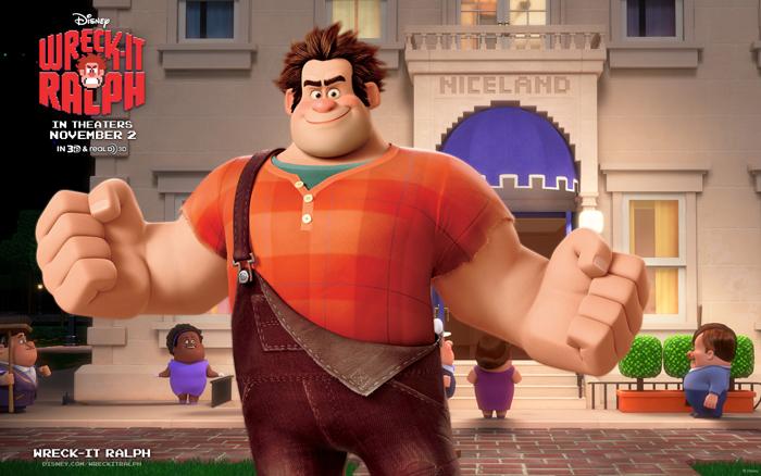 Главный герой 3D-мульта «Wreck-It Ralph» - Ральф