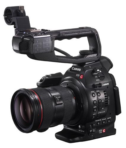 Canon EOS C100 с ручкой