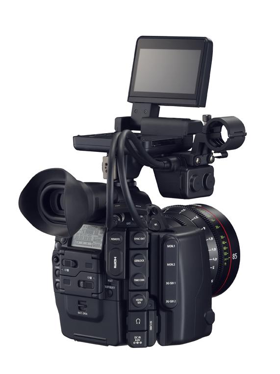 Камера EOS C500 заняла место флагмана в линейке продуктов EOS Cinema