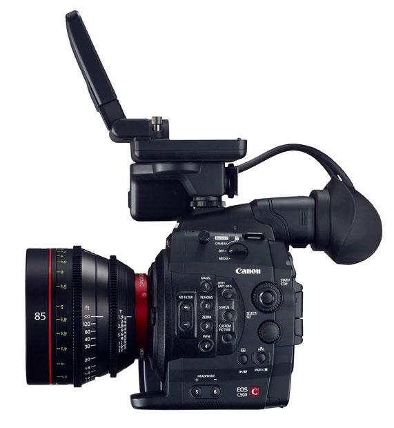 Canon EOS C500: внешний вид