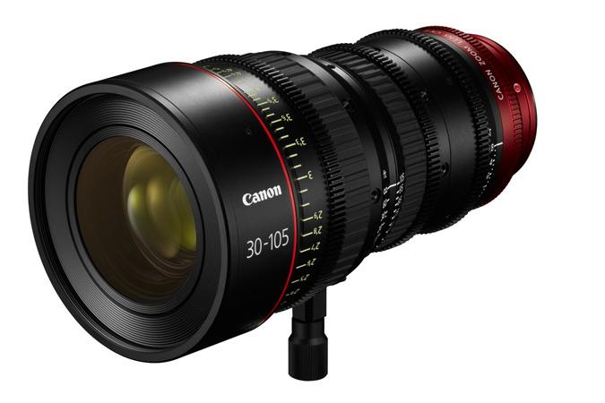 Canon CN-E30–105mm T2.8 L S/SP