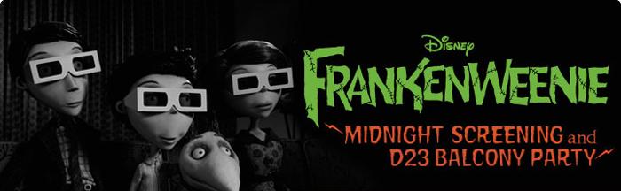 «Франкенвини» в кинотеатре Эль Капитан в Голливуде