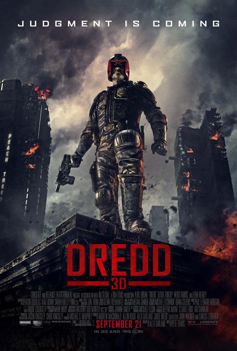 В ночь с 20-го на 21-е сентября в рамках фестиваля 3DFF состоится премьера 3D-картины «Судья Дредд»