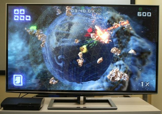 3D игры на 3D-телевизоре TOSHIBA 55ZL2R