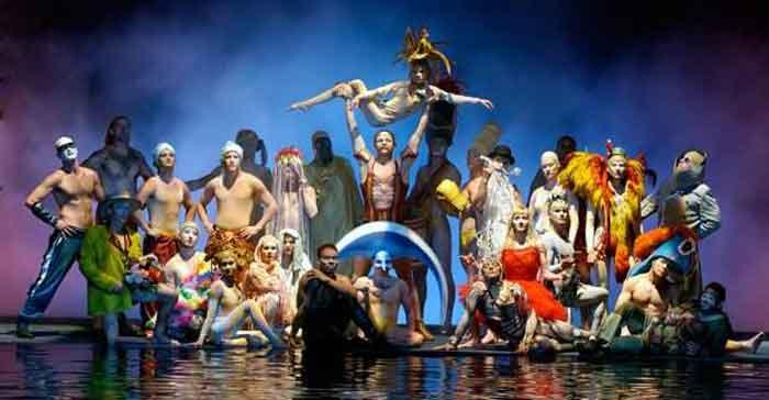 Мировая премьера 3D-ленты «Cirque du Soleil: Worlds Away» в Токио