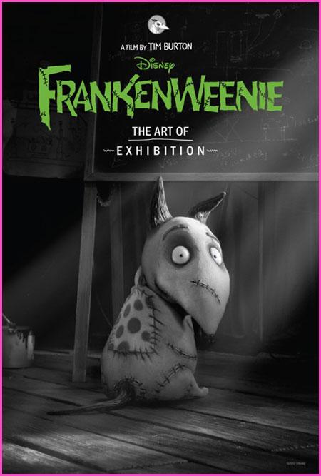 17-21 октября пройдет выставка The Art of Frankenweenie