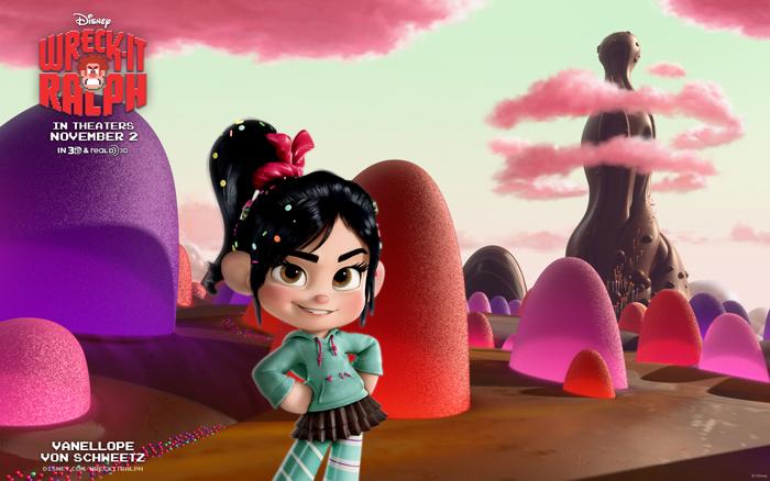 Ванилопа из Sugar Rush – один из персонажей 3D-фильма «Ральф-разрушитель»