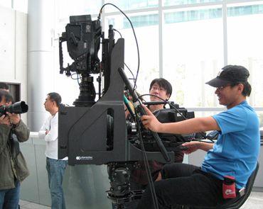 Работа оператора за Stereotec 3D Live Rig (Carbon)