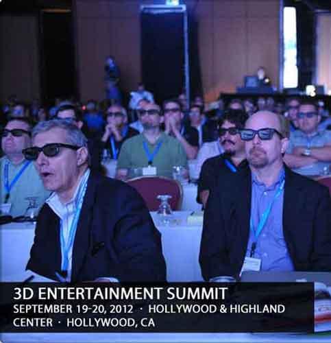 Открытие 3D Entertainment Summit 2012 состоится 19 сентября в торгово-развлекательном комплексе Hollywood and Highland Center