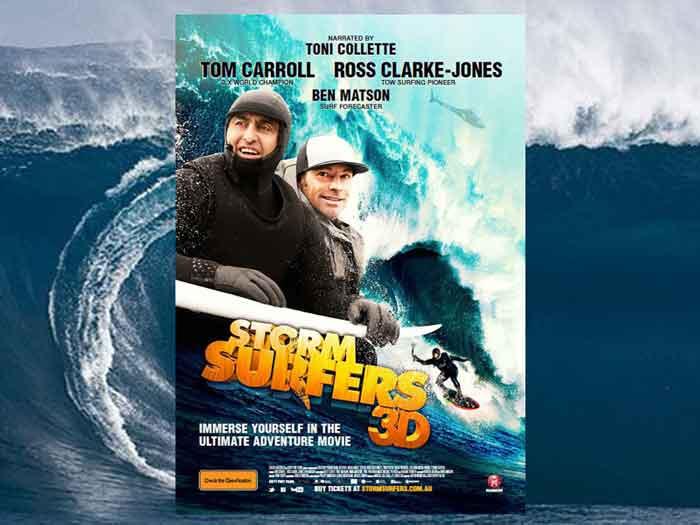 Презентация австралийского короткометражного фильма «Storm Surfers 3D»
