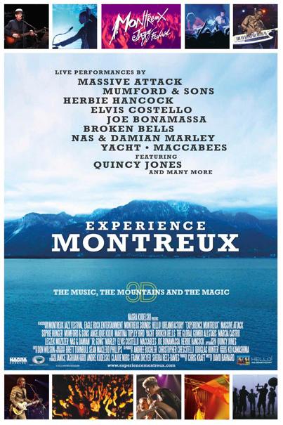 Премьера картины «Experience Montreux in 3D» на кинофестивале 3DFF